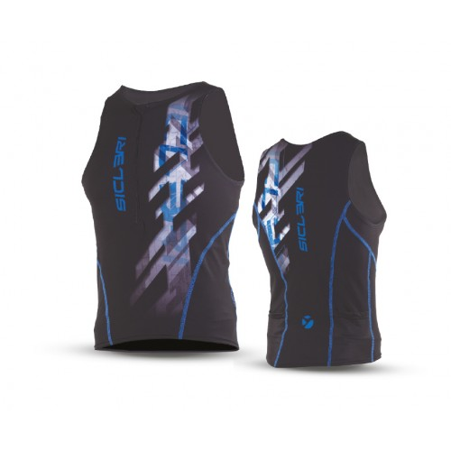 MAN TRIATHLON SINGLET FRONT ZIP