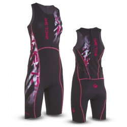 WOMAN TRIATHLON SUIT BACK ZIP