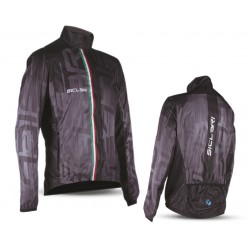 """NEGGIA"" UNISEX WINDPROOF LIGHT JACKET WITH REAR CUT"