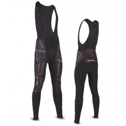 "WINTER BIB TIGHTS - FRONT WINDPROOF UNISEX ""VALCROCE"""