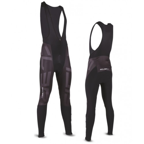 """VALCROCE"" WINTER BIB TIGHTS - FRONT WINDPROOF"