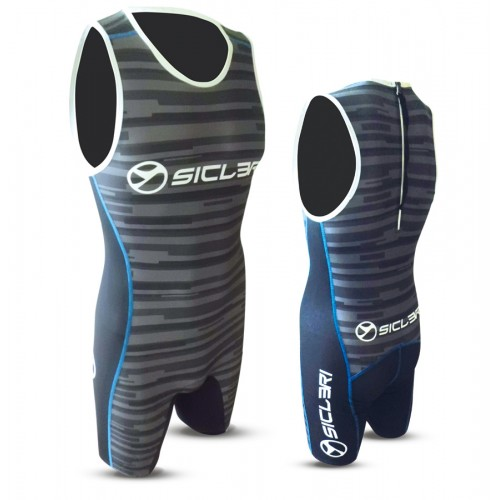"""GANNA"" UNISEX SKIN SUIT WITH REAR ZIP"