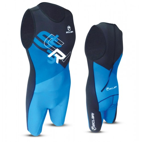 """LAMAR"" UNISEX SKIN SUIT WITH REAR ZIP"