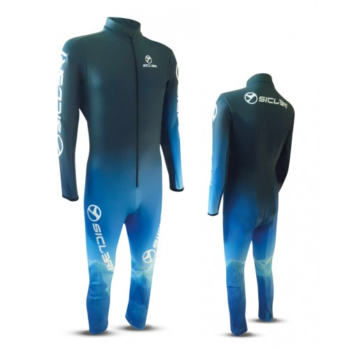 marti ski race suit front zip