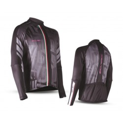 """""""CHIODO"""" WOMAN WINDPROOF FRONT PANEL LONG SLEEVE JERSEY"""