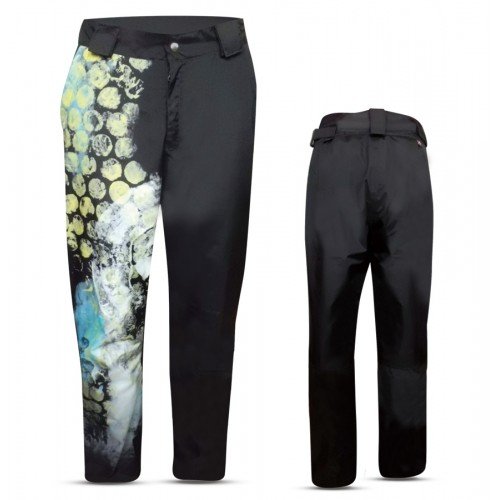 """DOBBIACO"" MAN SKI PANTS WITH SIDE ZIP IN DERMIZAX FABRIC"