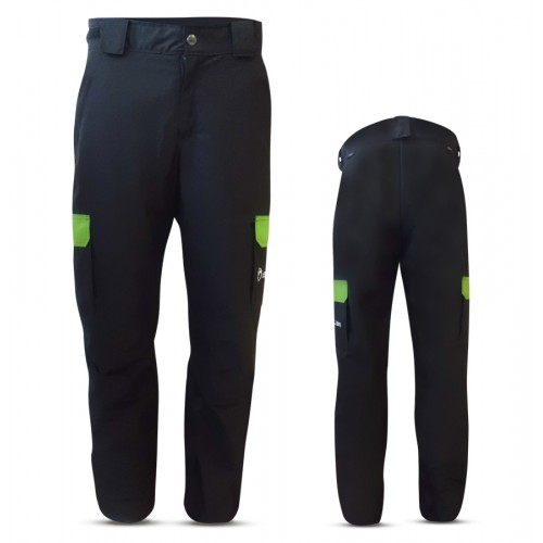 """""""LUSON"""" KID SKI PANTS WITH EXTERNAL SIDE POCKETS IN ALPI FABRIC"""