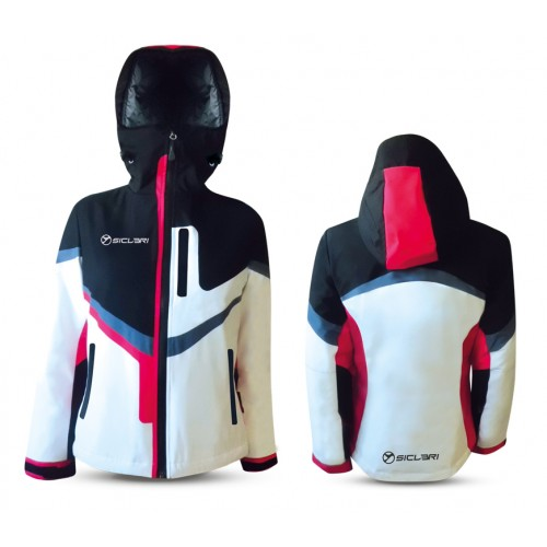 """ANDALO"" WOMAN SKI JACKET WITH INTERNAL GAITER IN ALPI FABRIC"
