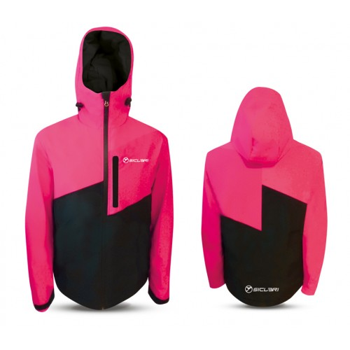 """""""TIRES"""" WOMAN SHELL JACKET WITH INTERNAL GAITER IN DOLOMITI FABRIC"""