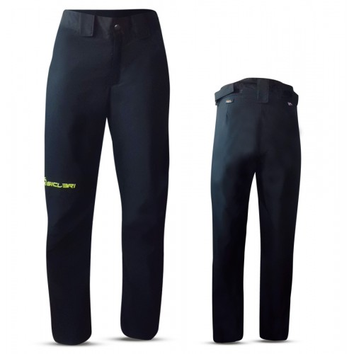 """SILANDRO"" WOMAN SKI PANTS WITH SIDE ZIP IN DOLOMITI FABRIC"