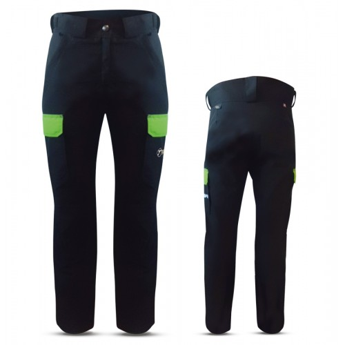 """""""GAIS"""" WOMAN SKI PANTS WITH EXTERNAL SIDE POCKETS IN DOLOMITI FABRIC"""