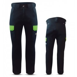 """PREDAZZO"" WOMAN SKI PANTS WITH EXTERNAL SIDE POCKETS IN DERMIZAX FABRIC"