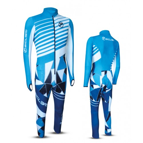 """CANDA"" SKI RACE SUIT FRONT ZIP"