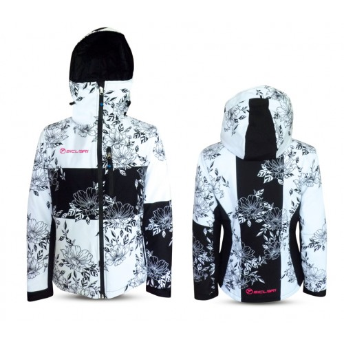"""""""SAN CANDIDO"""" WOMAN SKI JACKET WITH INTERNAL GAITER IN eVent FABRIC"""