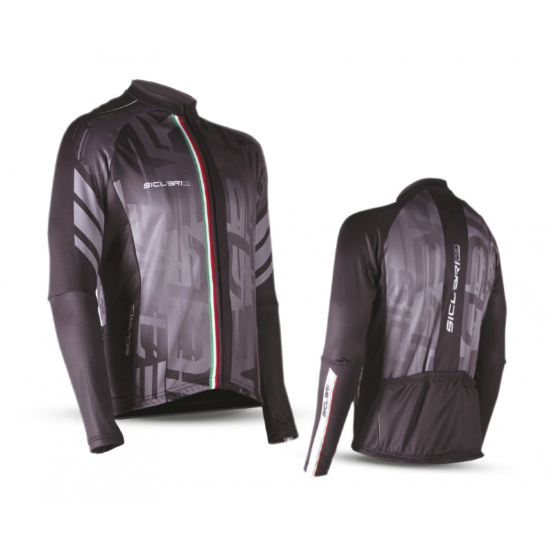 """CHIODO"" WINDPROOF FRONT PANEL LONG SLEEVE JERSEY"