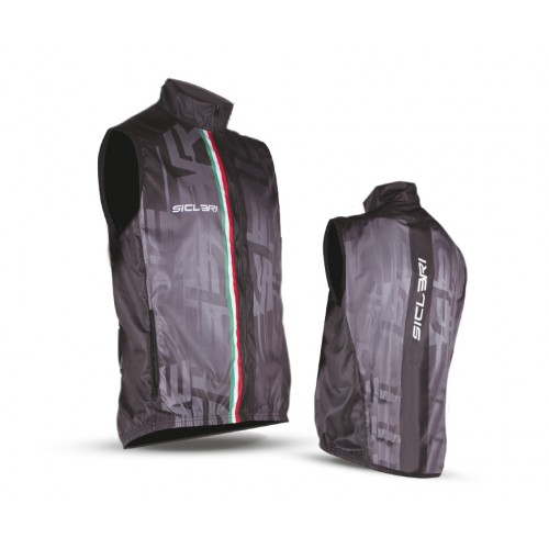 """""""CISA"""" UNISEX EXTRA LIGHT VEST WITH BACK IN """"ASOLO"""" MESH"""