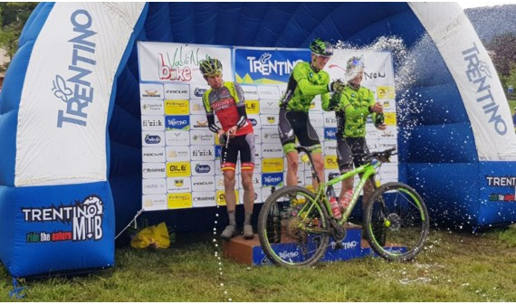 "MATTIA LONGA WINS THE ""VAL DI NON BIKE""!- ROEL PAULISSEN COMPLETES THE PODIUM"