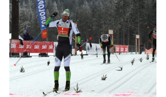 FRANCESCO FERRARI TRIUMPHS AT THE SKADI LOPPET